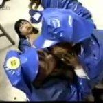 【乱交 スカトロ動画】婦人警官5人の糞まみれレズ乱交!ウンコを口移ししてマン汁垂らす変態ぷっりに脱帽ww