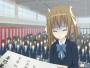 【スカトロ動画 エロアニメ】ツインテールの美少女が卒業式中でオナラお漏らしハプニング!(二次元)